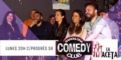 Barcelona comedy club: lunes